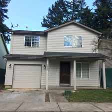 Rental info for 3822 SE 117th Place in the Pleasant Valley area