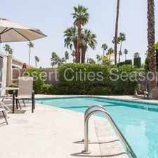 Rental info for Seasonal - Beautiful Shadow Mountain Home in the Palm Desert area