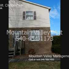 Rental info for 1404 Mt. Clinton Pike