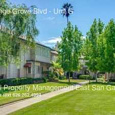 Rental info for 155 S Orange Grove Blvd in the Lower Arroyo area