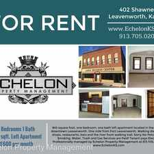 Rental info for 402 Shawnee - Apartment 2