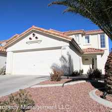 Rental info for 728 Ribbon Grass Ave in the Paradise area
