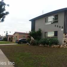 Rental info for 8809 Crenshaw Blvd. - 02 in the Los Angeles area
