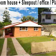 Rental info for 3 bedroom home PLUS 2 bedroom sleepout - Wont Last at this price!