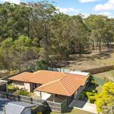 Rental info for BEAUTIFUL FAMILY HOME in the Eagleby area