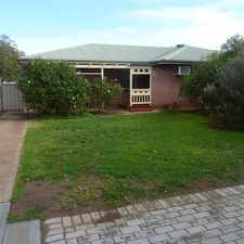 Rental info for NEAT 3 BEDROOM HOME in the Adelaide area