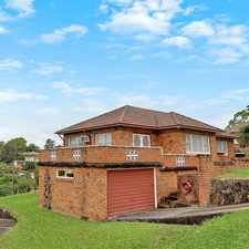 Rental info for 3 Bedroom Updated Family Home in the Wahroonga area