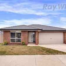 Rental info for Spacious Four Bedroom In Yorkdale Estate in the Ballarat area