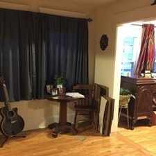 Rental info for Heat and Hot Water 100 - 1st floor 1 bedroom, 1 bath unit.
