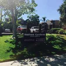 Rental info for 1255 N. Hudson Drive in the Pasadena area