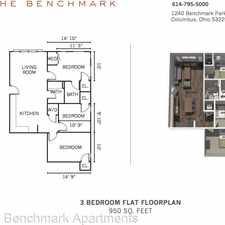 Rental info for 1240 Benchmark Park Drive in the Governours Square area