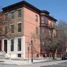 Rental info for 1701 Bolton Street in the Bolton Hill area