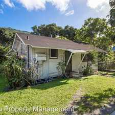 Rental info for 2357-C Palolo Ave
