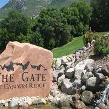 Rental info for Gate at Canyon Ridge in the Ogden area