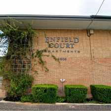 Rental info for Enfield Court Apartments in the Austin area