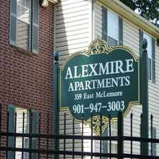 Rental info for Alexmire Apartments in the Memphis area