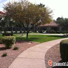 Rental info for 14435 South 48th Street in the Phoenix area