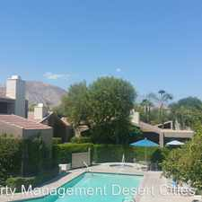 Rental info for 45775 Juniper Circle #615 in the Palm Desert area