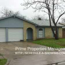 Rental info for 6308 Sudbury Way in the Fort Worth area