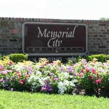 Rental info for Memorial City