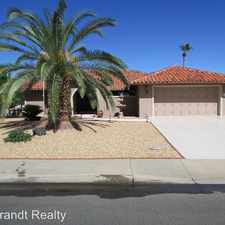Rental info for 13318 W Meeker Blvd in the Sun City West area