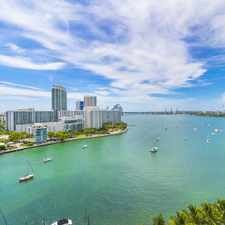 Rental info for SPACIOUS BAYFRONT STUDIO- GREAT WATER VIEWS IN PRIME MIAMI BEACH (Belle Isle) LOCATION