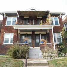 Rental info for 2109 Maury Ave in the St. Louis area