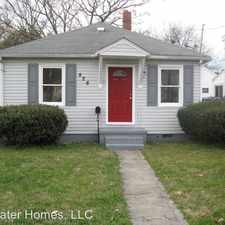 Rental info for 826 Partridge Ave in the South Norfolk area