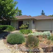 Rental info for 3443 Fir Drive in the Santa Rosa area
