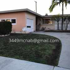 Rental info for 3449 McNab Avenue in the Long Beach area