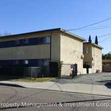 Rental info for 2731 Musgrove Ave. Apt. C in the El Monte area