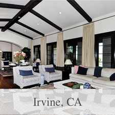 Rental info for Irvine, 4 bed, 4.50 bath for rent. Parking Available! in the Shady Canyon area