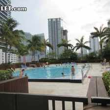 Rental info for Two Bedroom In Brickell Avenue in the Miami area