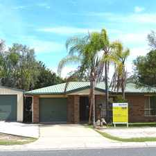 Rental info for :: TIDY LOWSET BRICK HOME IN CARINYA PARK - 2 LIVING AREAS AND A SHED in the Gladstone area