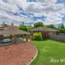 Rental info for IMMACULATE LOWSET HOME, INCLUDES LAWN MOWING!