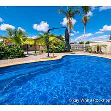 Rental info for Pool, Location & More! in the Rockhampton area
