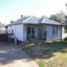 Rental info for Three Bedroom Home in Oxley Vale in the Tamworth area