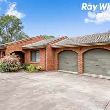 Rental info for Large 3 bedroom home with HUGE Double Garage - Walk to Rooty Hill Train Station in the Sydney area