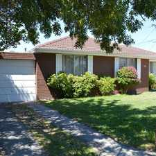 Rental info for CHARM, CLASS & CHARACTER! in the Sandringham area