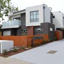 Rental info for NEAR NEW TOWNHOUSE! in the Melbourne area