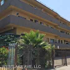 Rental info for 400 S. Westlake Ave. 15 in the Greater Echo Park Elysian area