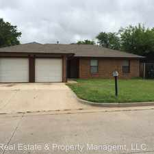 Rental info for 10101 Isaac Dr in the Midwest City area