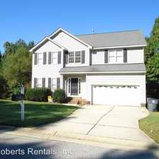 Rental info for 417 Oakhall Drive in the Holly Springs area
