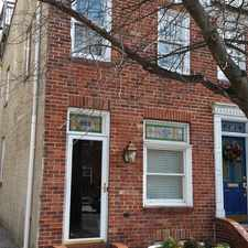 Rental info for 319 S. Washington St in the Upper Fells Point area
