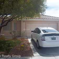 Rental info for 5002 Drifting Pebble St in the North Las Vegas area