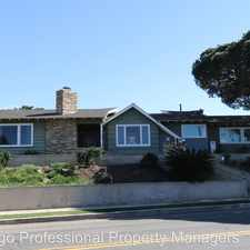 Rental info for 865 Cordova St in the Sunset Cliffs area