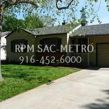 Rental info for Charming 2bed/1bath Home Near Sac State! in the Elmhurst area