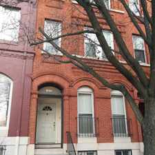 Rental info for 1837 Bolton Street in the Bolton Hill area