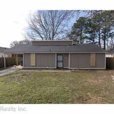 Rental info for 3939 Winwood Dr. in the Memphis area
