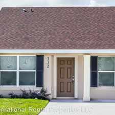 Rental info for 332 Dundee Dr